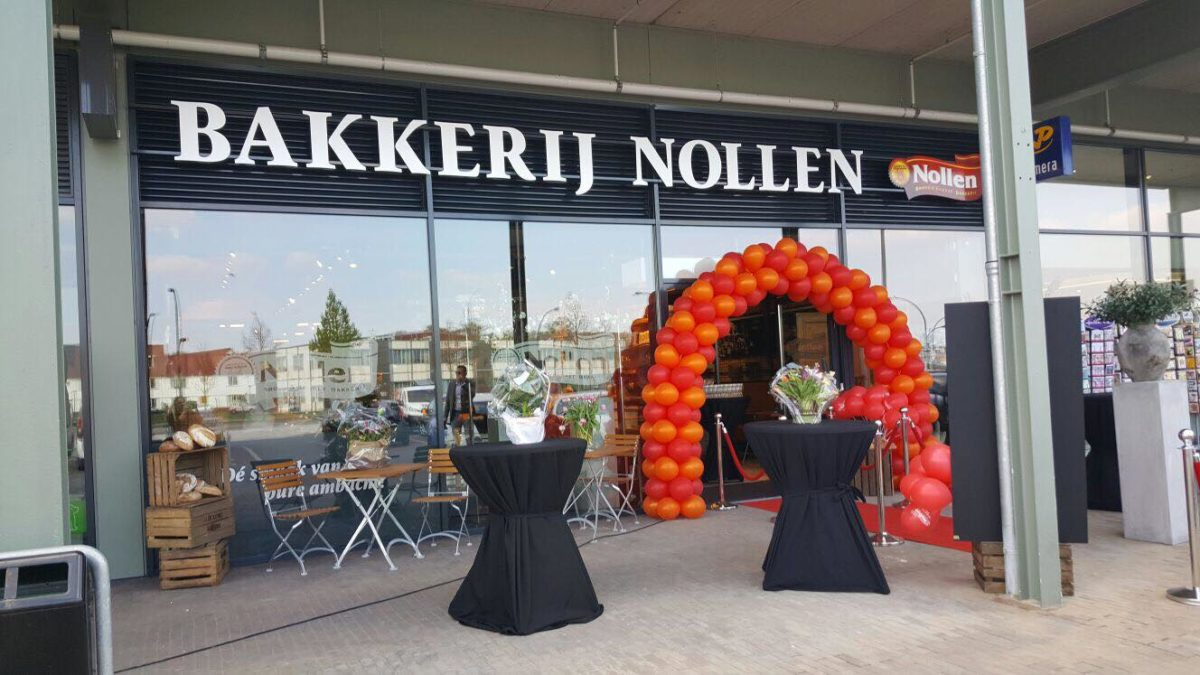 Bakkerij Nollen gevelreclame