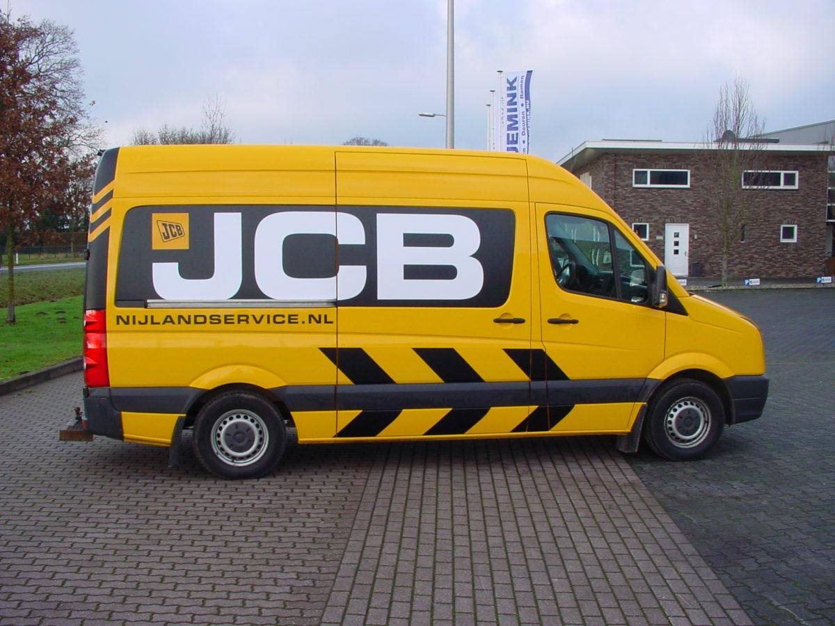 Nijlandservice JCB Autobelettering